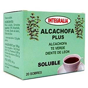 infusion de alcachofa con limon