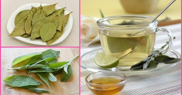 infusion de laurel y limon
