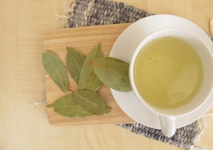 infusion de hojas de laurel con canela