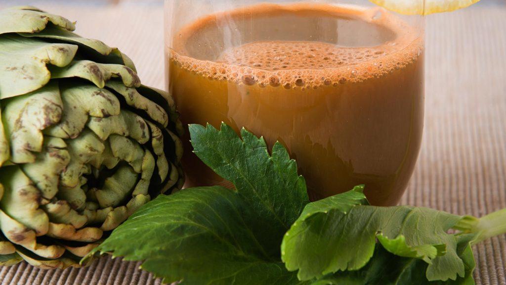 receta de infusión de alcachofa