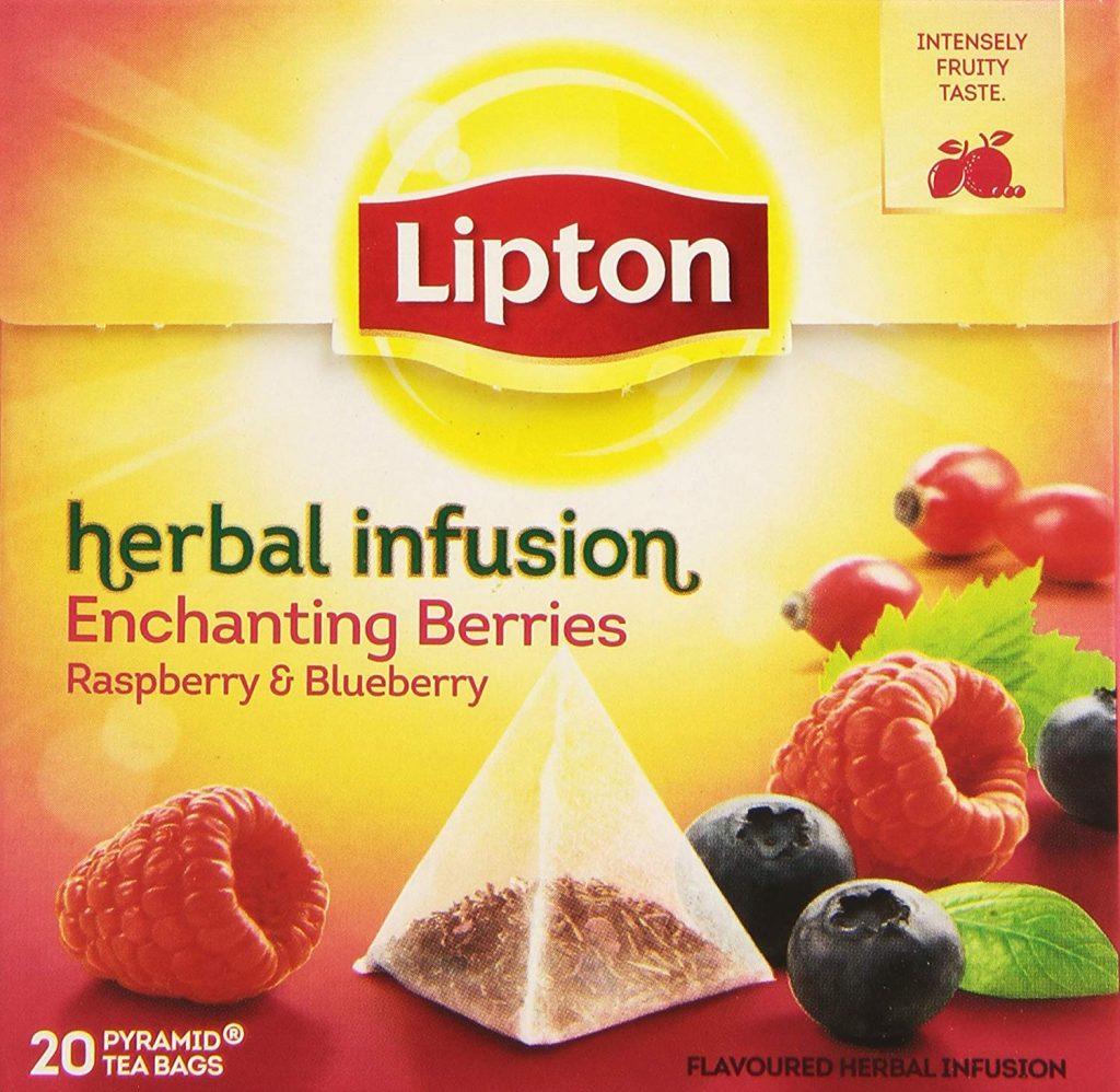 infusión de arándanos rojos