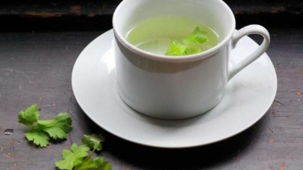 infusion de cilantro y limon