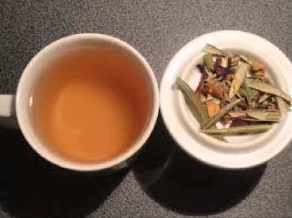infusion de manzanilla y espino blanco