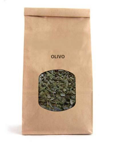 infusion de hojas de olivo secas
