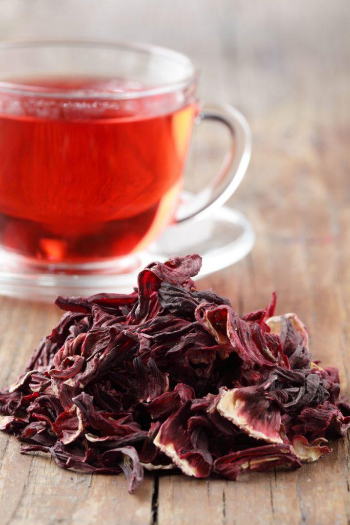 receta de infusion de hibiscus